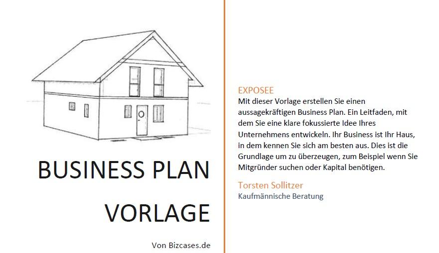 Vorschau Bild Business Plan Vorlage von bizcases.de